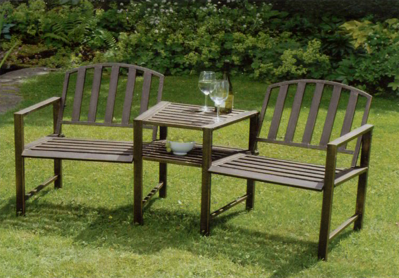 Marvelous Garden Bench Table Part - 11: Doverdale Duo Garden Bench And Table - 4151