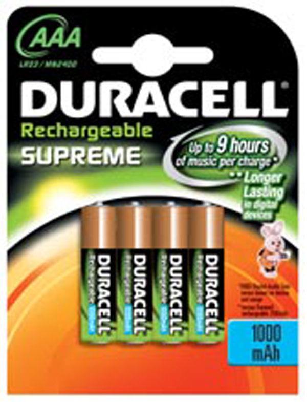AAA Rechargeable Batteries|Duracell Batteries|Rechargeable