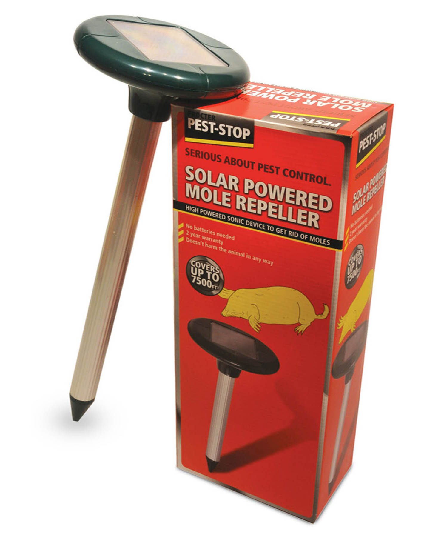 Pest Control In Boutte Mail: Mole Repeller Solar Powered