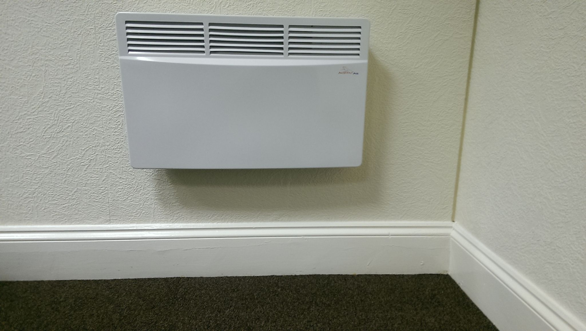 Ambient Air Convector Panel Heater Electric 1 5kw Wall