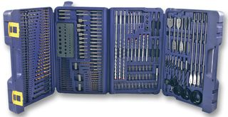 Drill Bit Set And Carry Case 204 Items