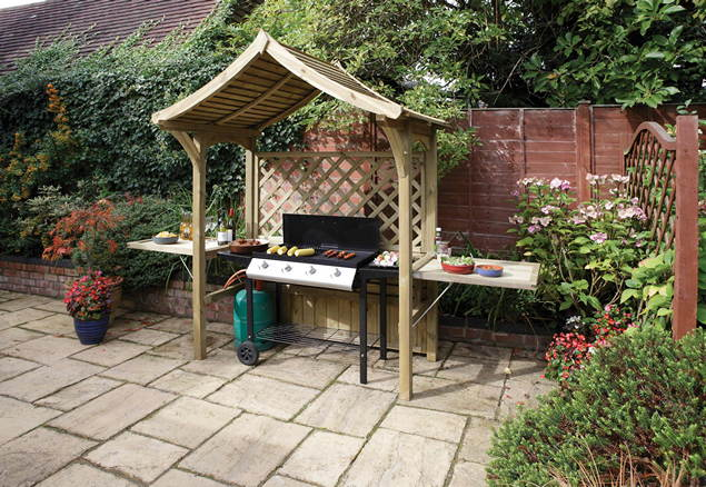 Party Garden Arbour Barbecue Shelter